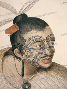 Moko from a Maori at Poverty Bay, Sydney Parkinson, 1777 | Photos and Images | Travel