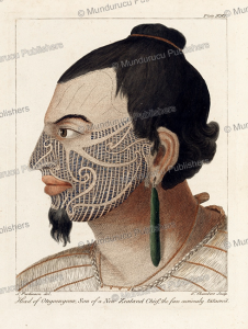 otegoowgoow, son of a chief, sydney parkinson, 1773