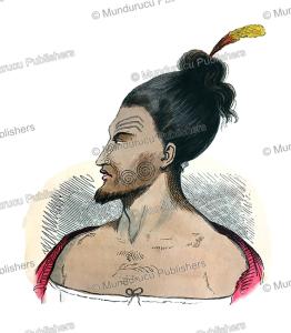 native of new zealand, mercier, 1835