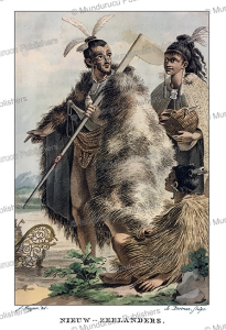 natives from new zealand, jacques kuyper, 1802