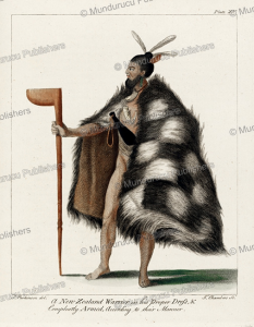 New Zealand warrior, Sydney Parkinson, 1784 | Photos and Images | Travel