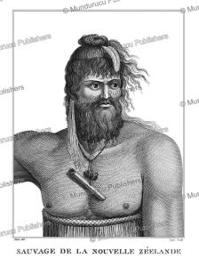 savage of new zealand, jean piron, 1791