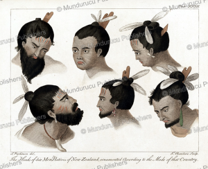 Six men of New Zealand, Sidney Parkinson, 1780 | Photos and Images | Travel