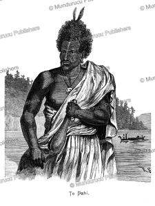 te pahi, maori chief, after george prideaux robert harris, 1840