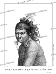 Young savage of New Zealand, Jean Piron, 1791 | Photos and Images | Travel