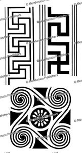 maori spirals, tregear, 1899