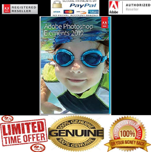 adobe photoshop elements 2019 full genuine (pc download)