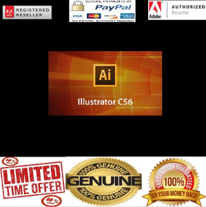 Adobe Illustrator CS6 (PC DOWNLOAD) | Software | Design