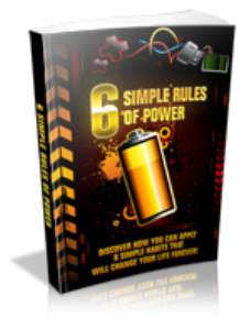 6 Simple Rules Of Power | eBooks | Self Help