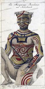 native of nuka hiva, marquesas islands, 1815