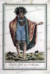 chief of christine island, marquesas islands, jacques grasset de saint-sauveur, 1795