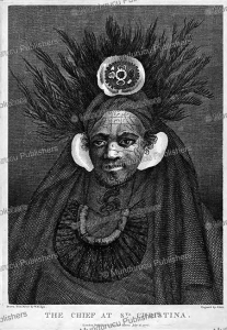 chief honu of sta. christina, marquesas islands, william hodges, 1776