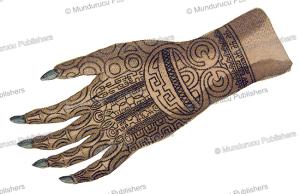 the tattooed hand of queen katanuu¨h of nuka hiva, marquesas islands, 1814