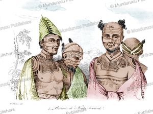 Natives of Nuka Hiva, Marquesas Islands, Louis Auguste de Sainson, 1834 | Photos and Images | Travel
