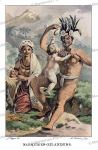 Natives of the Marquesas Islands, Jacques Kuyper, 1802 | Photos and Images | Travel