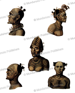 Different face patterns of Nuka Hiva warriors, Marquesas Islands | Photos and Images | Travel