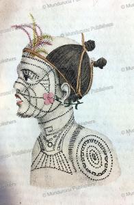 Man of Nuka Hiva, Marquesas Islands, N. Anslijn, 1834   Photos and Images   Travel