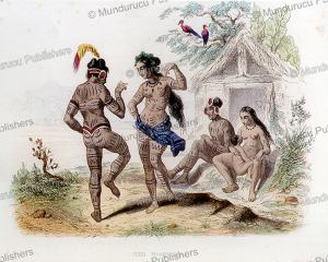 Dancing natives of the Marquesas Islands, Devilliers, 1844 | Photos and Images | Travel