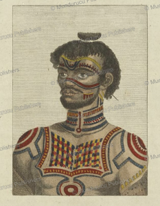 Tattooed warrior of Nuka Hiva, Marquesas Islands, 1814 | Photos and Images | Travel