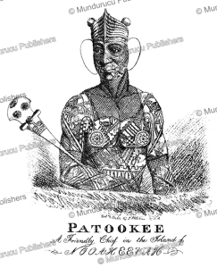 Patookee, the friendly chief of Nuka Hiva, Marquesas Islands, John Shillibeer, 1817 | Photos and Images | Travel
