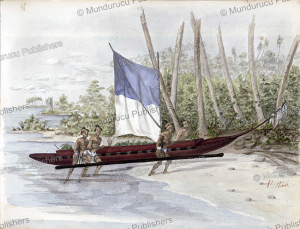 Indians searching for food on Vaitahue, Marquesas Islands, Charles Claude Antiq, 1846 | Photos and Images | Travel