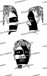 face patterns from nuka hiva with oblique band (pa heke), marquesas islands, willowdean chatterson handy, 1922