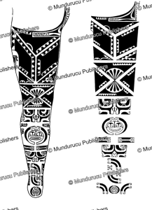 Leg pattern for women, Marquesas Islands, Willowdean Chatterson Handy, 1922 | Photos and Images | Travel