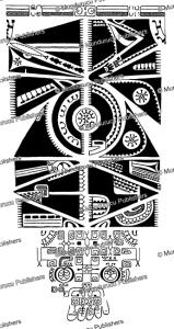 complete leg pattern for women, marquesas islands, willowdean chatterson handy, 1922