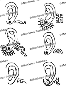 Ear patterns for women, Marquesas Islands, Willowdean Chatterson Handy, 1922 | Photos and Images | Travel