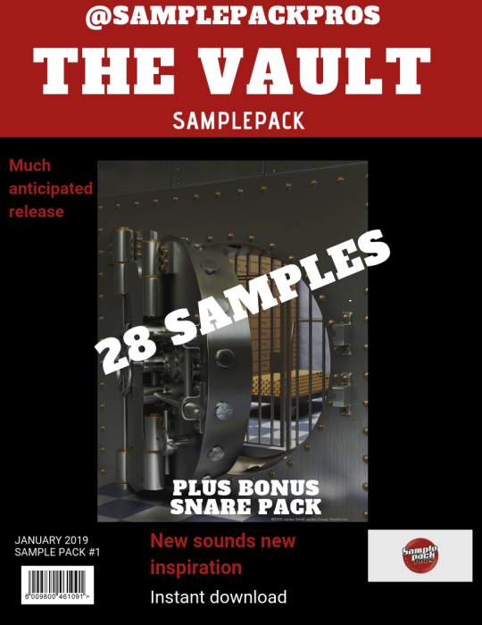 Second Additional product image for - The Vault sample pack