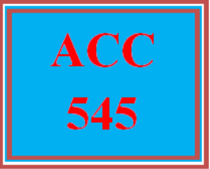 acc 545 week 6 team assignment equity investment and notes to the financial statements
