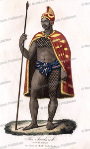 war costume, sandwich islands, hawaii, albert e´tienne de monte´mont, 1835
