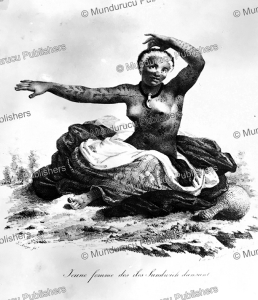 Young woman of the Sandwich Islands, Hawaii, Jacques Arago, 1820 | Photos and Images | Travel