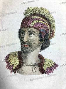 High chief Ka'iana, N. Anslijn, 1834 | Photos and Images | Travel