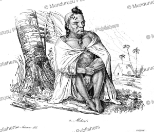 Makoa of the Sandwich Islands, Hawaii, Louis Auguste de Sainson, 1839 | Photos and Images | Travel