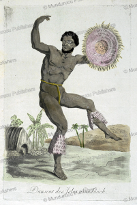 Dancer of the Sandwich Islands, Hawaii, Jacques Grasset de Saint-Sauveur, 1795 | Photos and Images | Travel