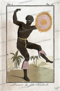 Dancing man of the Sandwich Islands, Hawaii, Jacques Grasset de Saint-Sauveur, 1790 | Photos and Images | Travel
