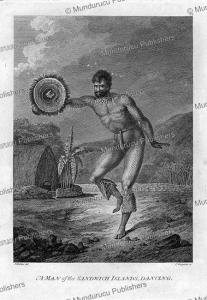 Dancing man, Hawaii, John Webber, 1784f | Photos and Images | Travel