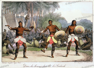 Dancing men of Hawaii, Louis Choris, 1816 | Photos and Images | Travel