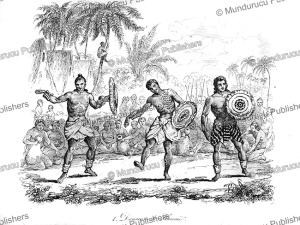 Hawaiian dancers, Hawaii, Louis Auguste de Sainson,1846 | Photos and Images | Travel