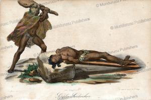 Hawaiian sacrifice, Jacques Arago, 1819 | Photos and Images | Travel