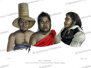 Three chiefs of Hawaii, Alphonse Pellion, c. 1820 | Photos and Images | Travel