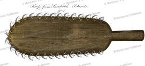 Knife with shark teeth, Nathaniel Portlock, 1789 | Photos and Images | Travel