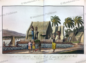 View of the Royal Murai on Oahu, Hawaii, Choris, 1821 | Photos and Images | Travel