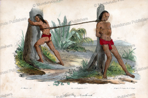 punishment on hawaii, jacques arago, 1820