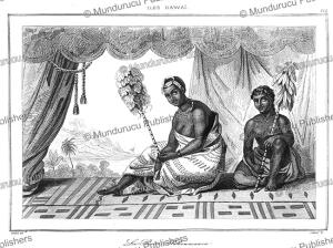 Queen Elizabeth Ka?ahumanu, Hawaii, Victor Marie Felix Danvin, 1836 | Photos and Images | Travel