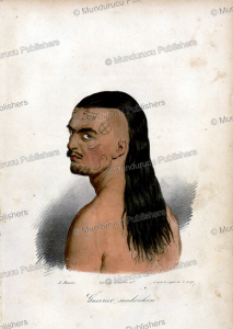 Tattooed chief, Hawaii, A. Mourin, 1819 | Photos and Images | Travel