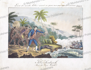 Death of Captain Cook, Hawaii, after John Webber, c. 1890 | Photos and Images | Travel
