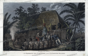 An offering before Captain Cook, Hawaii, John Webber, 1781 | Photos and Images | Travel