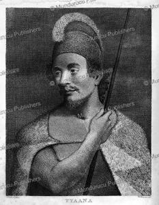 Tianna (Ka?iana), a chief of Atooi (Kauai), Hawaii, Joseph Woodcock, 1787 | Photos and Images | Travel